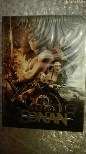 Dvd ' BARBAR CONAN. REMAKE-1