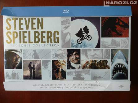 blu-ray STEVEN SPIELBERG COLLECTION