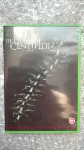 Dvd ' THE HUMAN CENTIPEDE 2 ' bez CZ-1