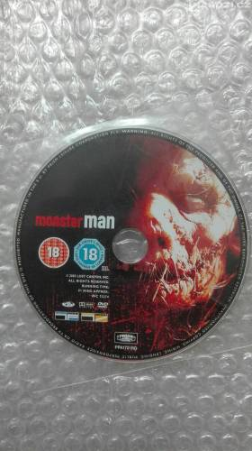 Dvd ' MONSTER MAN ' bez CZ-1