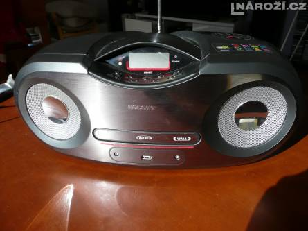 prenosny mp3/cd/radio/usb prehravac SCOTT SD 60