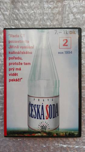 Dvd ' CESKA SODA 2-1