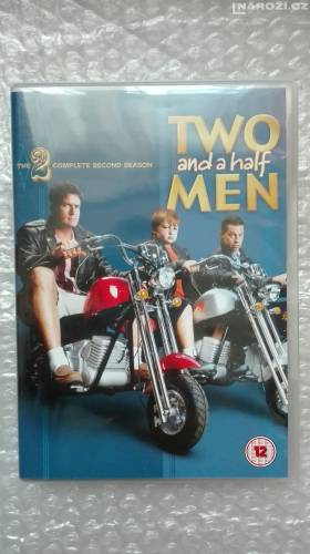 dvd ' TWO AND A HALF MEN ' bez cz. 2 sezona-1