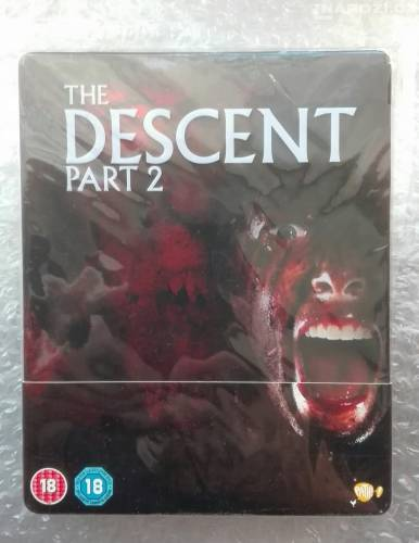 Blu ray ' THE DESCENT 2 ' STEELBOOK ' BEZ CZ-1