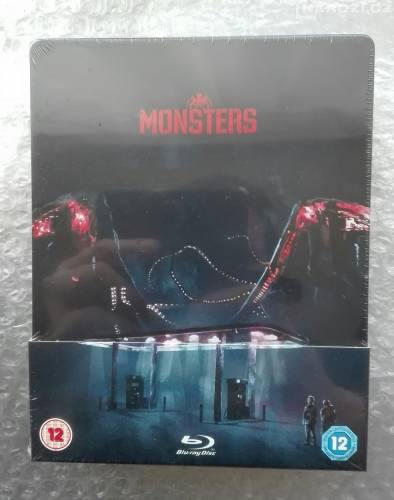 Blu ray ' THE MONSTERS ' STEELBOOK ' BEZ CZ-1