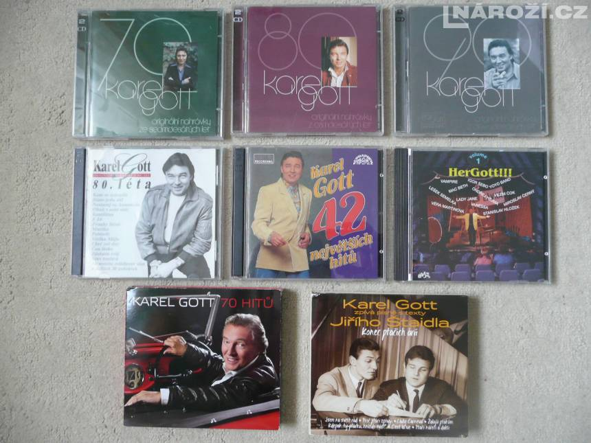 KAREL GOTT sbirka cd + dvd-3
