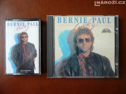 mc+cd BERNIE PAUL (Supraphon 1987'1989)