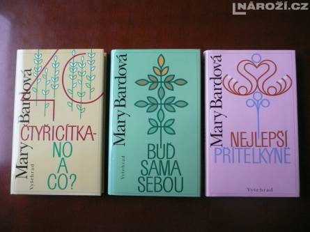 3x knizka MARY BARDOVA (sestra Betty McDonaldove)