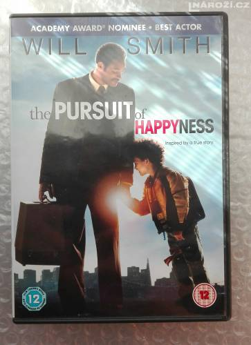Dvd ' THE PRSUIT OF HAPPYNESS  ' BEZ CZ-1