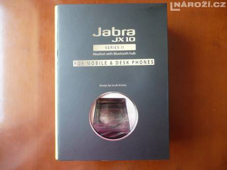 Jabra JX10 - bluetooth headset call centrum