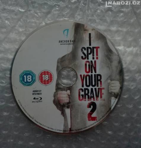Blu ray ' I SPIT ON YOUR GRAVE  2' BEZ CZ '-1