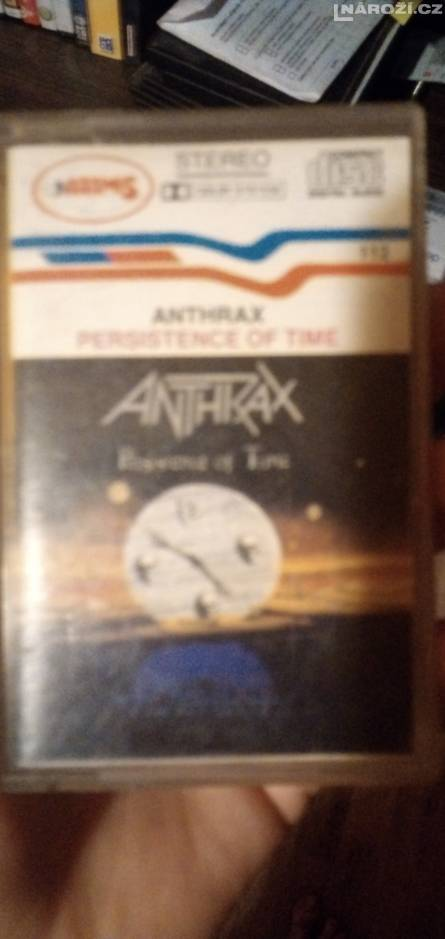 Mc anthrax persistence od time