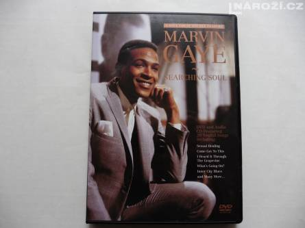 CD + DVD Marvin Gaye : Searching Soul