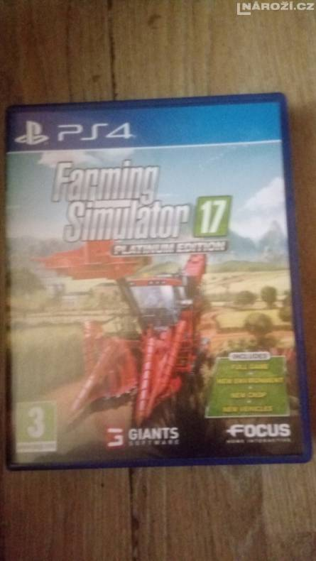 ps4 farming simulator 17 pe
