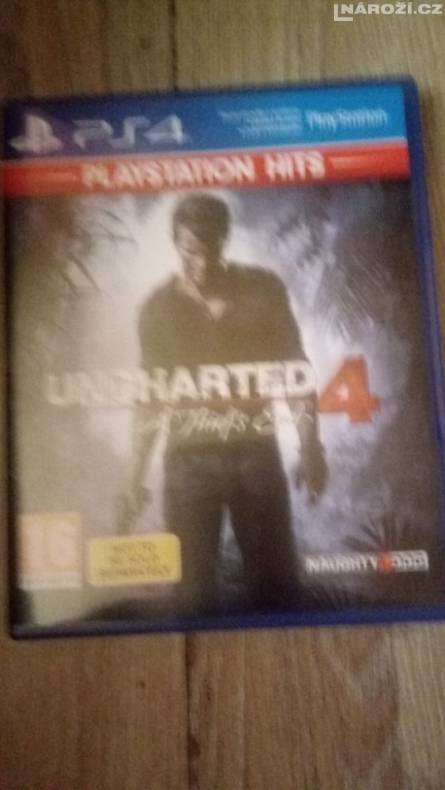 ps4 uncharted 4 cz