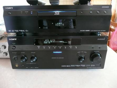 receiver SONY STR-DA5500ES - TOP MODEL + MonsterCable
