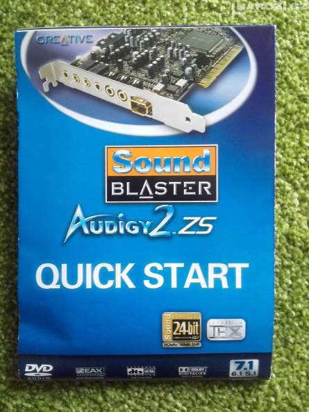 Sound Blaster Audigy 2 ZS