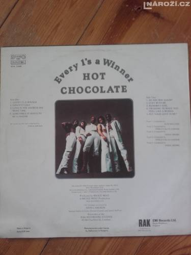 LP vinyl Hot Chocolate - Every 1´s Winner-2