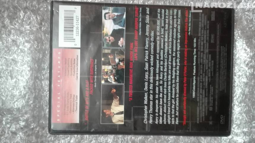 Dvd ' SUICIDE KINGS  ' bez CZ ' region 1-2