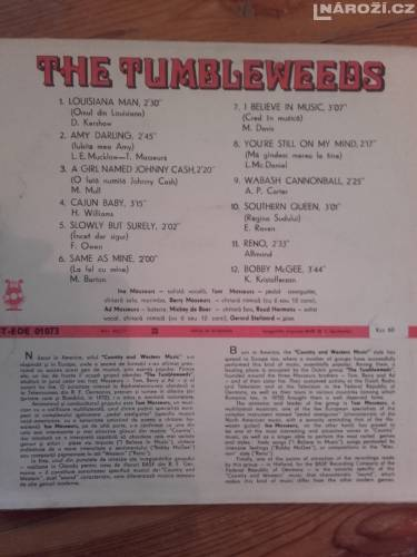 LP vinyl The Tumbleweeds-2