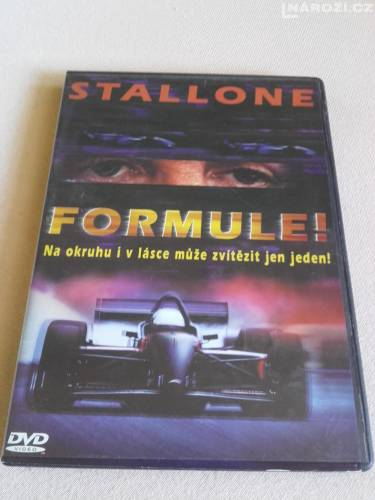 DVD S. Stallone - Formule-1